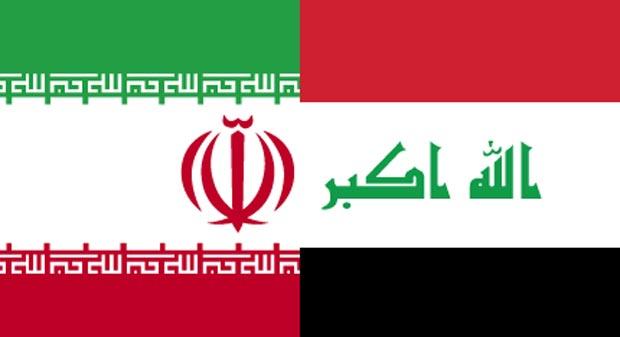 IRAN-IRAQ-FLAGS